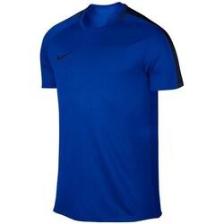 vaatteet Pojat Lyhythihainen t-paita Nike JR Dry Academy Top Tummansininen