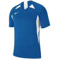 vaatteet Pojat Lyhythihainen t-paita Nike JR Legend Valkoiset,Vaaleansiniset