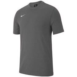 vaatteet Pojat Lyhythihainen t-paita Nike JR Team Club 19 Grafiitin väriset