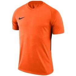 vaatteet Miehet Lyhythihainen t-paita Nike Dry Tiempo Prem Jersey Oranssin väriset