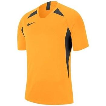 vaatteet Miehet Lyhythihainen t-paita Nike Legend SS Jersey Mustat,Oranssin väriset