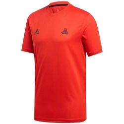 vaatteet Miehet Lyhythihainen t-paita adidas Originals Tango Trening Punainen