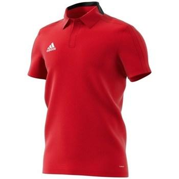 vaatteet Miehet Lyhythihainen poolopaita adidas Originals Condivo 18 Polo Punainen
