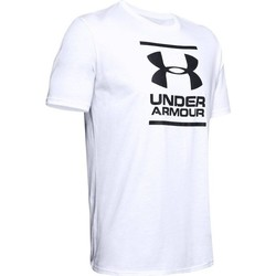 vaatteet Miehet Lyhythihainen t-paita Under Armour GL Foundation SS Valkoiset