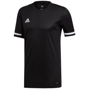 vaatteet Miehet Lyhythihainen t-paita adidas Originals Team 19 Mustat