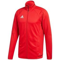 vaatteet Miehet Ulkoilutakki adidas Originals Tiro 17 Punainen