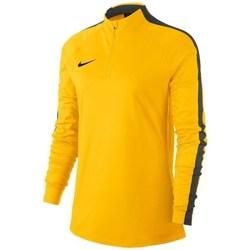 vaatteet Naiset Ulkoilutakki Nike Womens Dry Academy 18 Dril Top Keltaiset