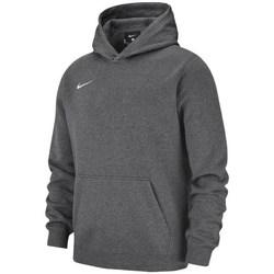 vaatteet Pojat Svetari Nike JR Team Club 19 Fleece Grafiitin väriset