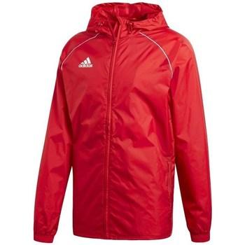 vaatteet Miehet Tuulitakit adidas Originals Core 18 Rain Punainen