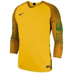 vaatteet Pojat T-paidat pitkillä hihoilla Nike JR Gardien II GK LS Oranssin väriset