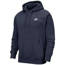 vaatteet Miehet Svetari Nike Club Hoodie PO BB Tummansininen