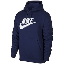 vaatteet Miehet Svetari Nike Nsw Club Hoodie GX Tummansininen