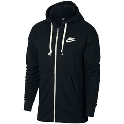 vaatteet Miehet Svetari Nike Heritage Hoodie FZ Mustat