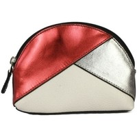 laukut Naiset Kukkarot Eastern Counties Leather  Red Foil/Pewter/White