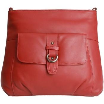 laukut Naiset Olkalaukut Eastern Counties Leather  Red