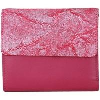 laukut Naiset Lompakot Eastern Counties Leather  Fuchsia/Pink Foil
