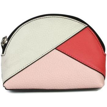 laukut Naiset Kukkarot Eastern Counties Leather  White/Coral/Light Pink