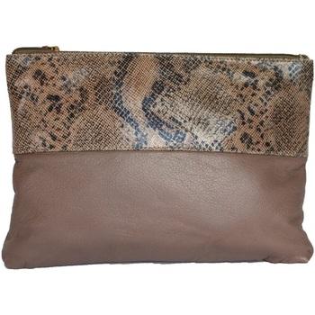 laukut Naiset Pikkulaukut Eastern Counties Leather  Taupe/Beige Foil
