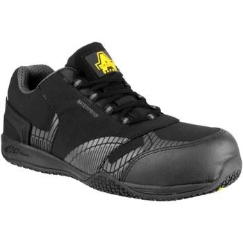 kengät Miehet Turvakenkä Amblers  Black