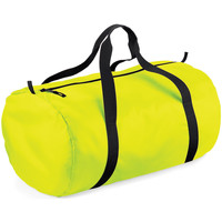 laukut Matkakassit Bagbase BG150 Fluorescent Yellow/ Black