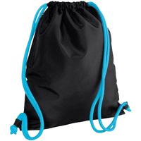 laukut Lapset Urheilulaukut Bagbase BG110 Black/Surf Blue