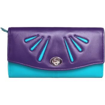 laukut Naiset Lompakot Eastern Counties Leather  Purple/Turquoise