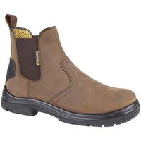 kengät Miehet Bootsit Grafters  Dark Brown