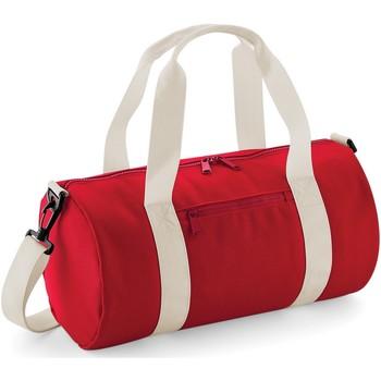 laukut Urheilulaukut Bagbase B140S Classic Red/Off White