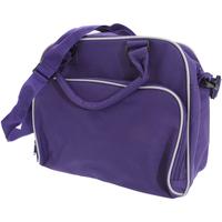 laukut Lapset Koululaukut Bagbase BG145 Purple/Light Grey