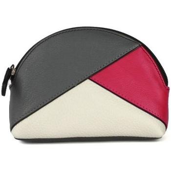 laukut Naiset Kukkarot Eastern Counties Leather  Grey/Pink/White