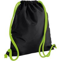 laukut Lapset Urheilulaukut Bagbase BG110 Black/Lime Green