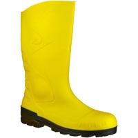 kengät Kumisaappaat Dunlop DEVON  WELLY Yellow/Black