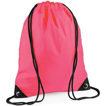 laukut Lapset Urheilulaukut Bagbase BG10 Fluorescent Pink