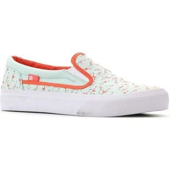 kengät Naiset Tennarit DC Shoes Trase Slipon SP Vaaleanvihreä