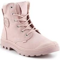 kengät Naiset Bootsit Palladium Manufacture Pampa Sport Vaaleanpunaiset