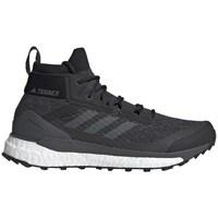 kengät Miehet Korkeavartiset tennarit adidas Originals Terrex Free Hiker Harmaat