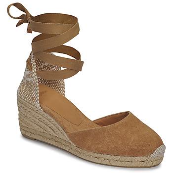 kengät Naiset Sandaalit ja avokkaat Castaner CARINA Kamelinruskea