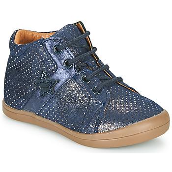 kengät Tytöt Korkeavartiset tennarit GBB DUANA Blue