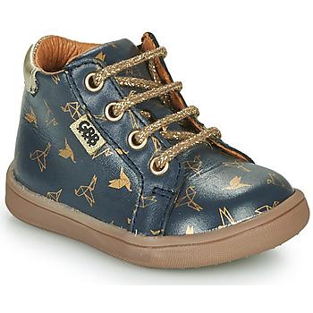 kengät Tytöt Bootsit GBB FAMIA Blue / Kulta