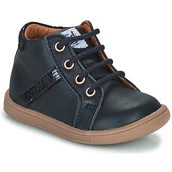 kengät Tytöt Korkeavartiset tennarit GBB AGLAE Blue
