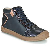 kengät Tytöt Korkeavartiset tennarit GBB ORENGETTE Blue