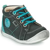 kengät Pojat Bootsit GBB OLAN Black / Blue