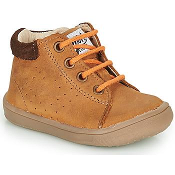 kengät Pojat Bootsit GBB FOLLIO Brown