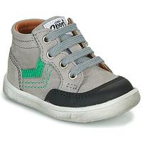 kengät Pojat Korkeavartiset tennarit GBB VIGO Grey