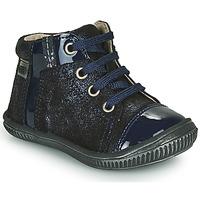 kengät Tytöt Korkeavartiset tennarit GBB OUNA Sininen