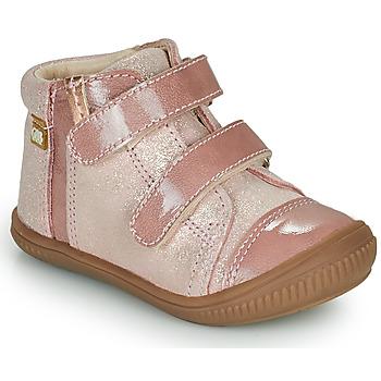 kengät Tytöt Korkeavartiset tennarit GBB ODITA Vaaleanpunainen