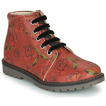kengät Tytöt Bootsit GBB NAREA Punainen