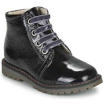 kengät Tytöt Bootsit GBB NAREA Musta