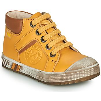 kengät Pojat Korkeavartiset tennarit GBB OLANGO Yellow