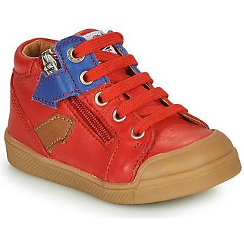 kengät Pojat Korkeavartiset tennarit GBB IONNIS Red